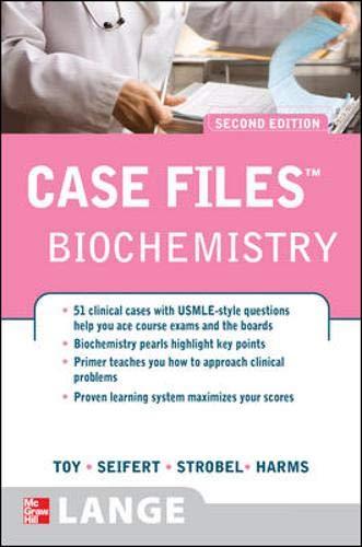 9780071486651: Case Files Biochemistry, Second Edition (Lange Case Files)