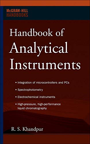 9780071487467: Handbook of Analytical Instruments (Professional Engineering)