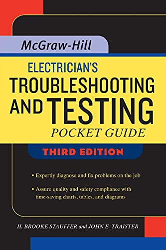 9780071487825: Electrician's Troubleshooting and Testing Pocket Guide, Third Edition (P/L Custom Scoring Survey)