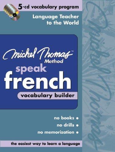 9780071488051: Michel Thomas Speak French Vocabulary Builder: 5-CD Vocabulary Program (Michel Thomas Series)