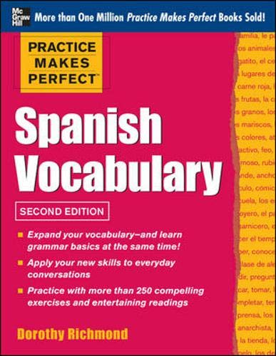 9780071488341: Practice Make Perfect: French Vocabulary (Practice Makes Perfect Series)