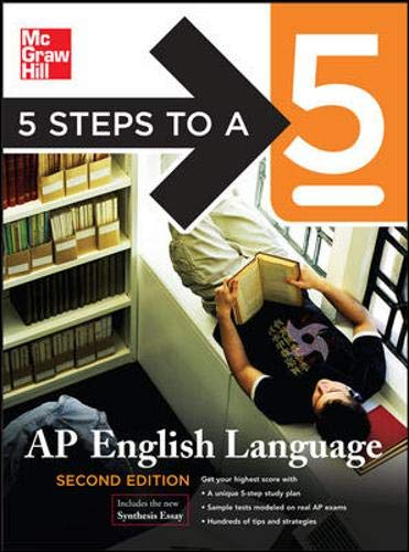 9780071488549: 5 Steps to a 5 English Language, Second Edition (5 Steps to a 5 on the Advanced Placement Examinations)