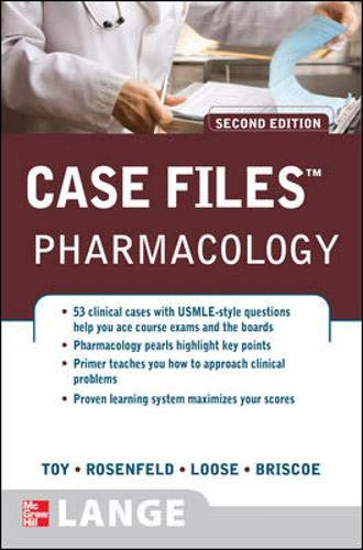 9780071488587: Case Files Pharmacology, Second Edition (Lange Case Files)