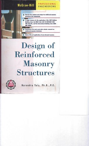 9780071488594: Design of Reinforced Masonry