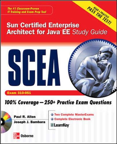 9780071488617: Sun Certified Enterprise Architect for Java EE Study Guide (Exam 310-051) (Certification Press)