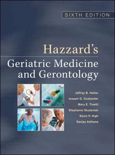 9780071488723: Hazzard's geriatric medicine & gerontology