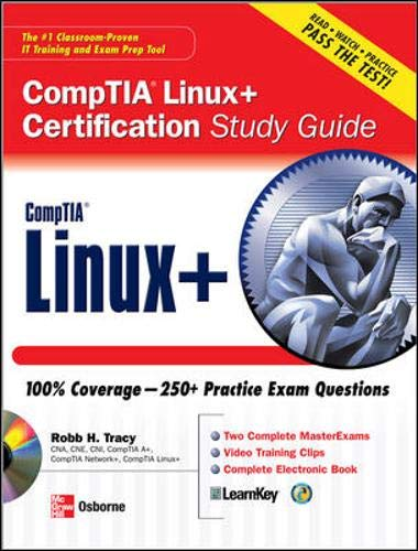9780071488747: CompTIA Linux+ Certification Study Guide