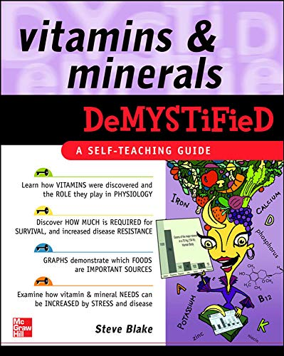 9780071489010: Vitamins and Minerals Demystified: A Self-teaching Guide
