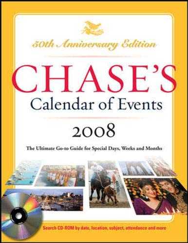 9780071489034: Chase's Calendar of Events 2008 w/CD-Rom