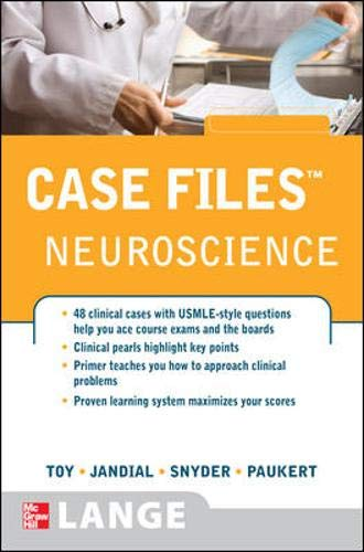 9780071489218: Case Files Neuroscience (Lange Case Files)