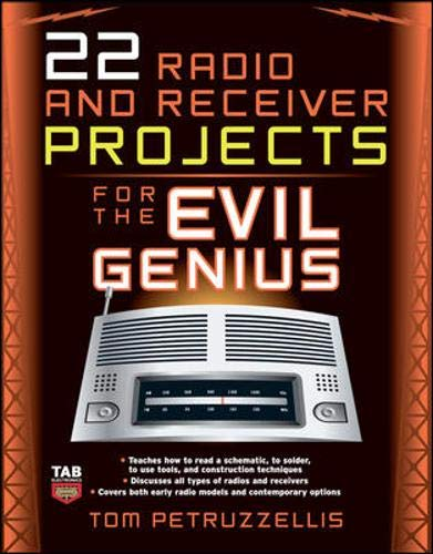 9780071489294: 22 Radio and Receiver Projects for the Evil Genius