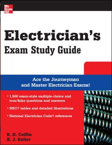 9780071489300: Electrician's Exam Study Guide (McGraw-Hill's Electrician's Exam Study Guide)