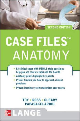 9780071489805: Case Files Anatomy, Second Edition (Lange Case Files)