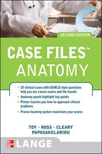 9780071489805: Case Files Anatomy, Second Edition (Lange Case Files)