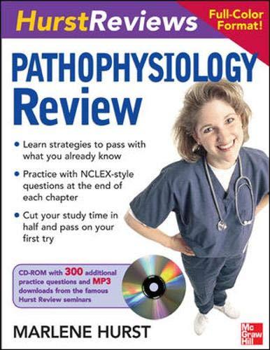 9780071489867: Hurst Reviews Pathophysiology Review