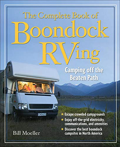 9780071490658: The Complete Book of Boondock RVing: Camping Off the Beaten Path