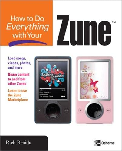 9780071490702: How to Do Everything with Your Zune
