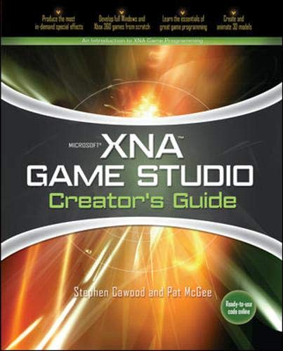 9780071490719: Microsoft XNA Game Studio Creators Guide: An Introduction to XNA Game Programming