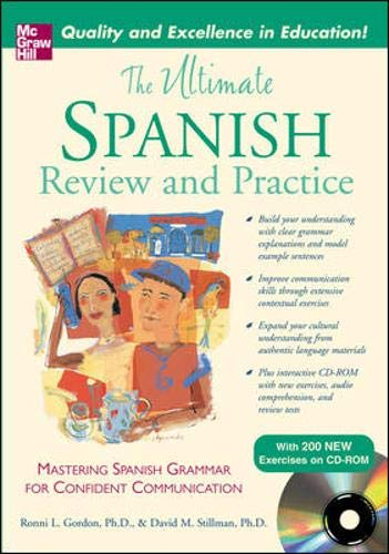 9780071492157: The Ultimate Spanish Review and Practice w/CD-ROM (UItimate Review & Reference Series)
