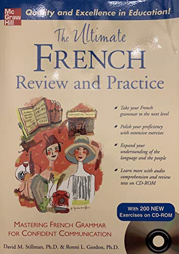 9780071492430: The Ultimate French Review and Practice : Mastering French Grammar for Confid...