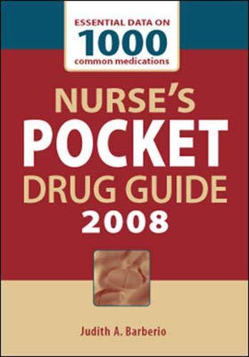 9780071492461: Nurse's Pocket Drug Guide 2008