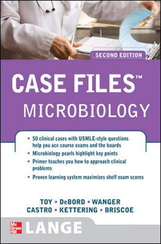 9780071492584: Case Files: Microbiology, 2nd Edition