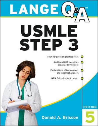 9780071492591: Lange Q&A USMLE Step 3, Fifth Edition