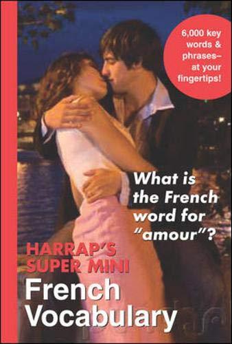 9780071492652: Harrap's Super-Mini French Vocabulary (Harrap's language Guides)