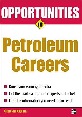 Opportunities in Petroleum: Krueger, Gretchen