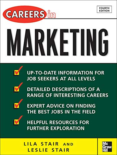 9780071493123: Careers in Marketing (McGraw-Hill Professional Careers)