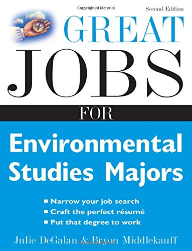 9780071493154: Great Jobs for Environmental Studies Majors (Great Jobs for ... Majors)