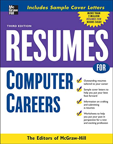 9780071493208: Resumes for Computer Careers (McGraw-Hill Professional Resumes)