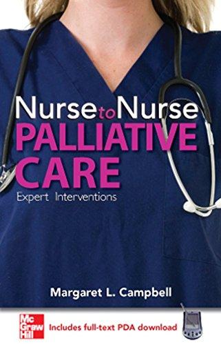 9780071493239: Nurse to Nurse Palliative Care
