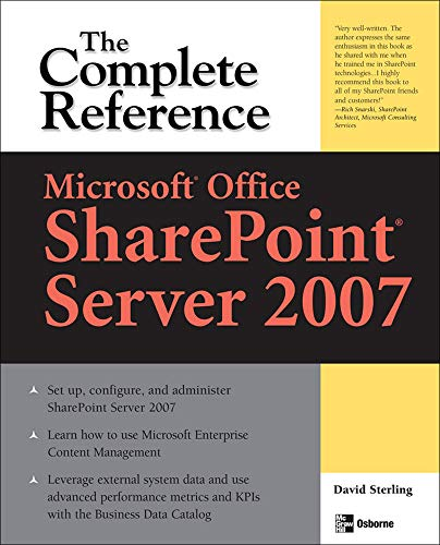 9780071493284: Microsoft® Office SharePoint® Server 2007: The Complete Reference