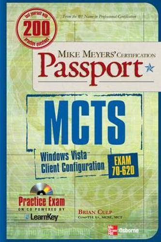 9780071493314: MCTS Windows Vista Client Configuration Passport (Exam 70-620)