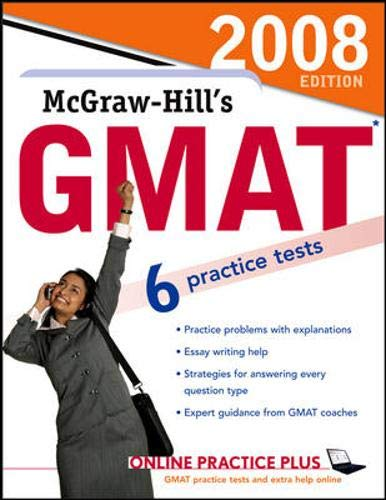 9780071493406: McGraw-Hill's GMAT, 2008 Edition