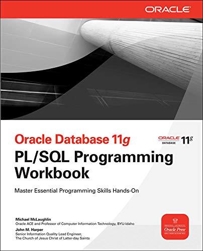 9780071493697: Oracle database 11 G PL/SQL programming workbook
