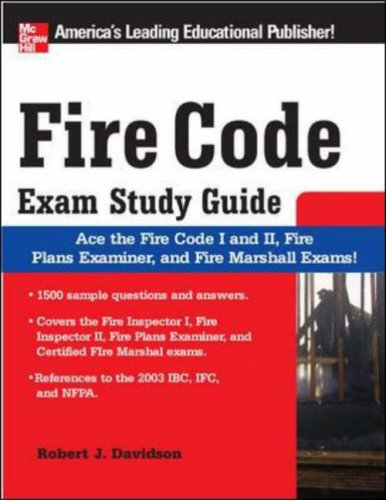 9780071493734: Fire Code Exam Study Guide