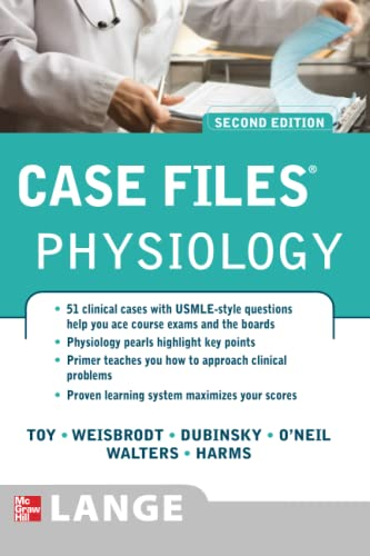 9780071493741: Case Files Physiology, Second Edition (LANGE Case Files)