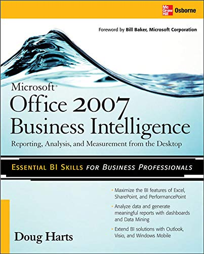 9780071494243: Microsoft ®  Office 2007 Business Intelligence: Reporting, Analysis, and Measurement from the Desktop