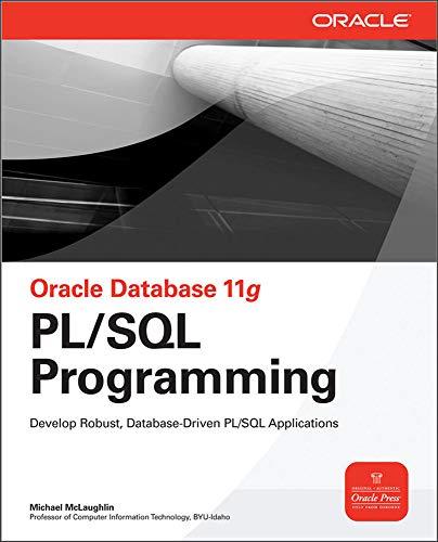 9780071494458: Oracle Database 11g PL/SQL Programming (Oracle Press)