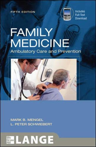 9780071494564: Family Medicine: Ambulatory Care and Prevention, Fifth Edition (LANGE Clinical Medicine)