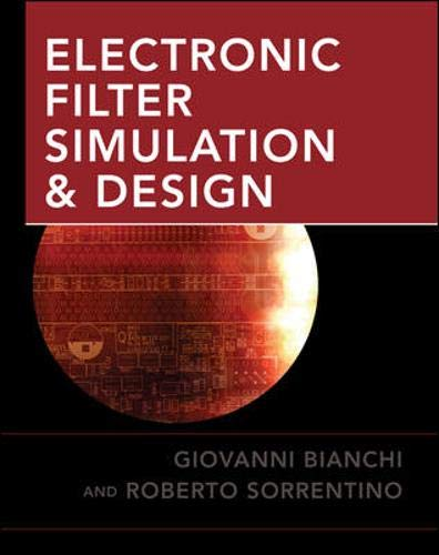 9780071494670: Electronic Filter Simulation & Design (Book & CD Rom)