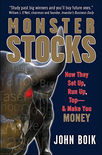 9780071494717: Monster Stocks: How They Set Up, Run Up, Top and Make You Money (General Finance & Investing)
