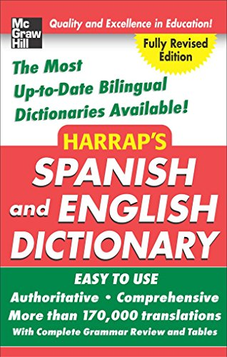 9780071495035: Harrap's Spanish and English Dictionary, Hardcover Ed.