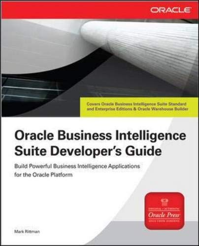 9780071495752: Oracle Business Intelligence Suite Developer's Guide