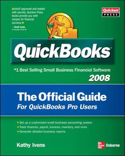 9780071495790: QuickBooks 2008: The Official Guide