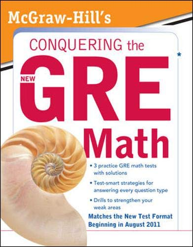 9780071495950: McGraw-Hill's Conquering the New GRE Math