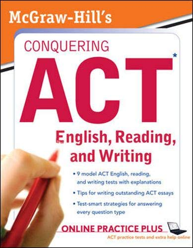 9780071495967: McGraw-Hill's Conquering ACT English, Reading, and Writing