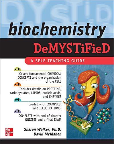 9780071495998: Biochemistry Demystified